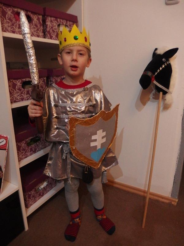 kráľ - rytier , Karnevalové masky