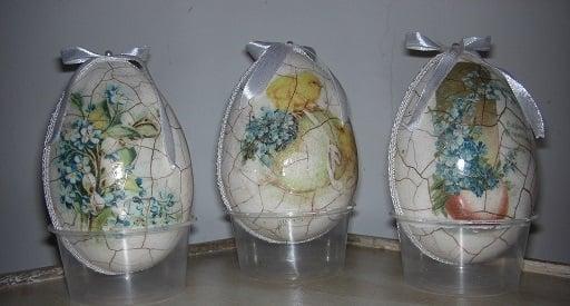 porcelánový krakel , Veľkonočné dekorácie