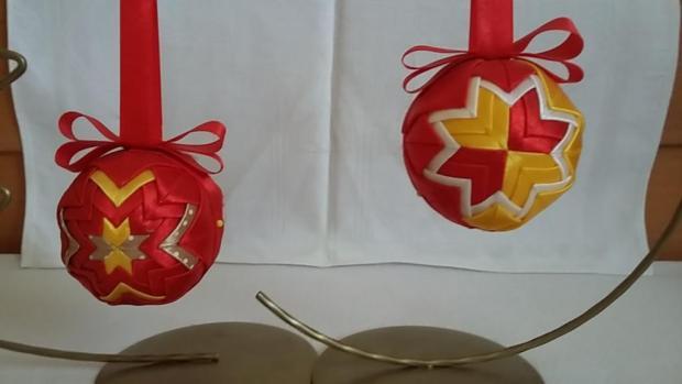 Vianočné ozdoby, Falošný patchwork 3