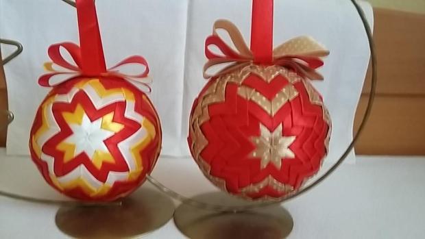 Vianočné ozdoby, Falošný patchwork 2