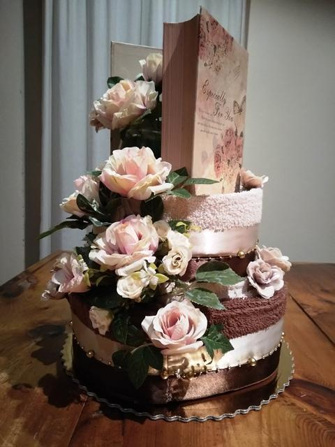 Čokoládová -uteráková torta, Aranžovanie 3