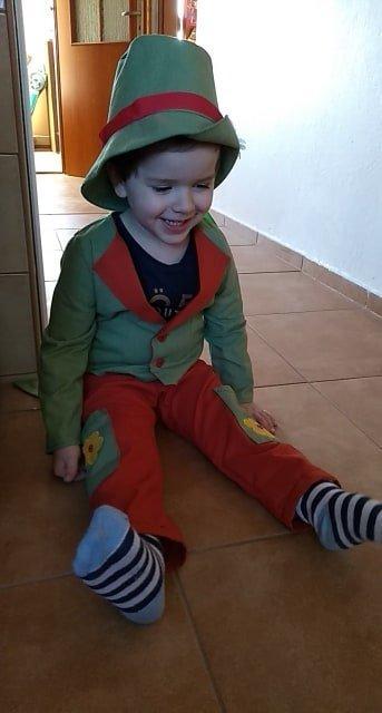 vodník pre vnúčika :-), Karnevalové masky