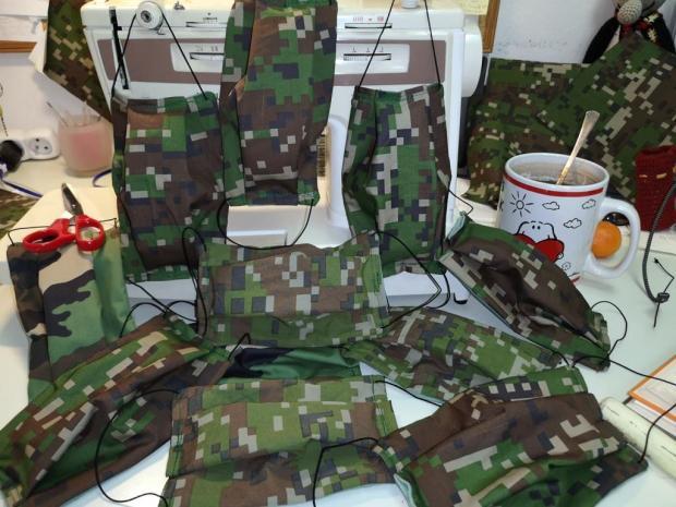 Rúška pre vojakov