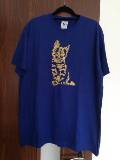 malované tričko, Maľovaný textil
