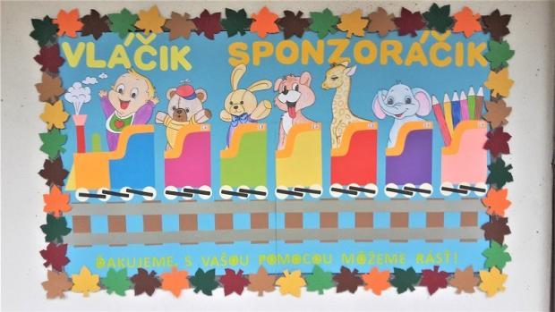 Vláčik Sponzoráčik, Tvoríme s deťmi a pre deti