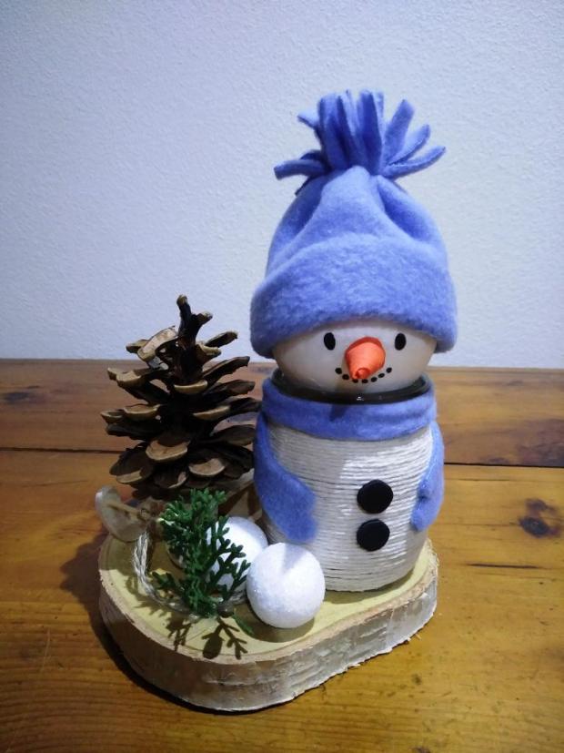Snehuliačik so stromčekom, Vianočné dekorácie