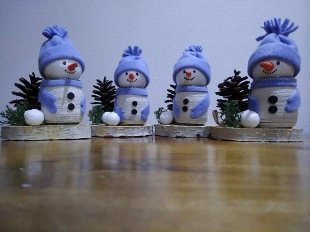 Snehuliačik so stromčekom, Vianočné dekorácie 2