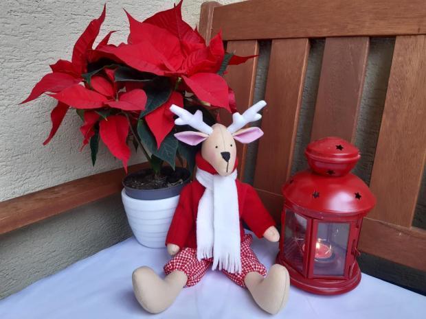 šitý Tilda sobík, Vianočné dekorácie