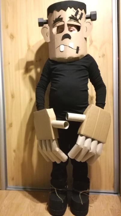 Frankenstein, Karnevalové masky 2