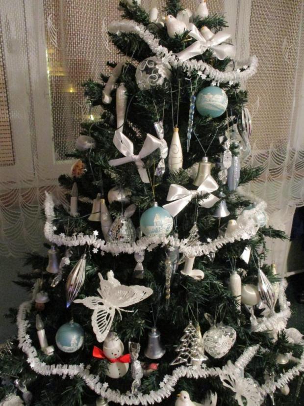 Biele Vianoce, Vianočné dekorácie