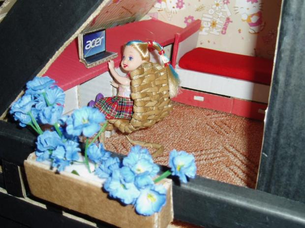 Domeček pro panenky Evičky, Bábiky a hračky 3