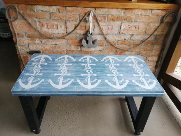 Starý stôl v námorníckom štýle, Recy - veci 2