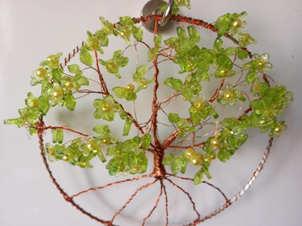 stromčeky šťastia trochu inak, Drôtovanie 2