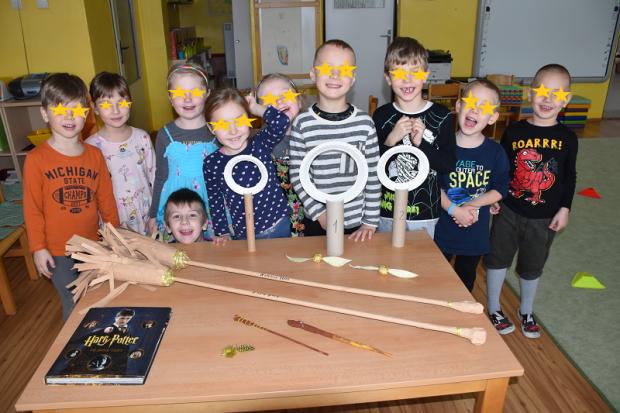 Harry Potter - metly, zlatá lietajúca loptičky, kruhy a prútiky, Tvoríme s deťmi a pre deti
