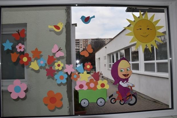 Jarná výzdoba na oknách , Tvoríme s deťmi a pre deti 2
