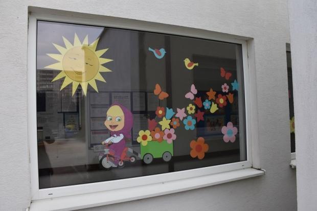 Jarná výzdoba na oknách , Tvoríme s deťmi a pre deti 3