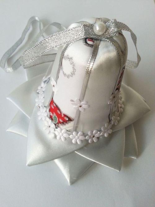 Vianočný zvonček - falošný patchwork, Falošný patchwork