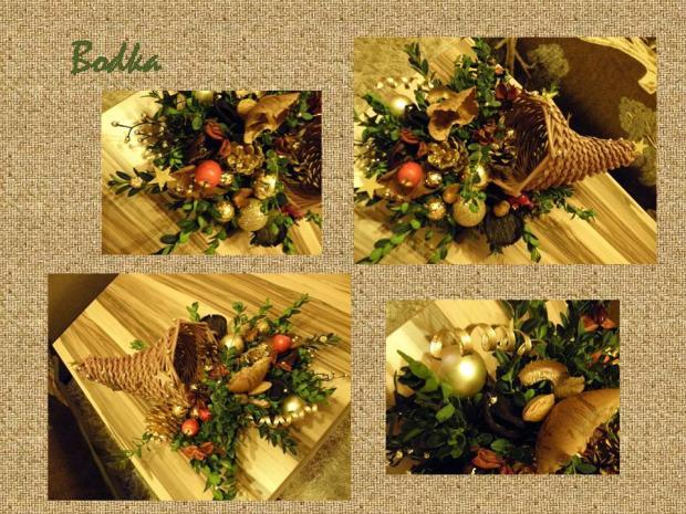f3408b916 a ešte jeden v prírodno zlatom prevedení , Vianočné dekorácie .