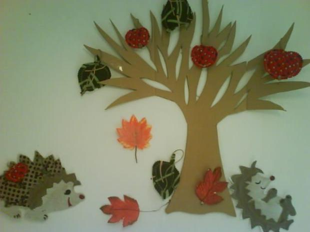 jesen v skolke, Tvoríme s deťmi a pre deti