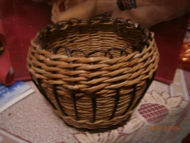 94dd0a6d8 košík z papiera pre moju dcéru, Papierové pletenie. Ostané tvorenie: