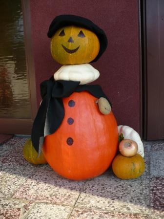 Jesenný panáčik, Aranžovanie
