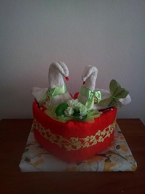 Torta s Osušiek, Aranžovanie
