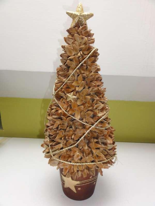 stromček z bukvíc, Aranžovanie