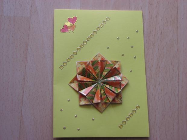 origami k narodeninam