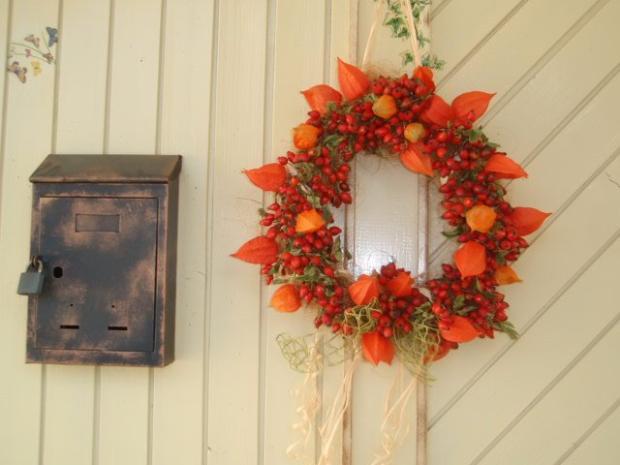 Jesenný venček, Aranžovanie