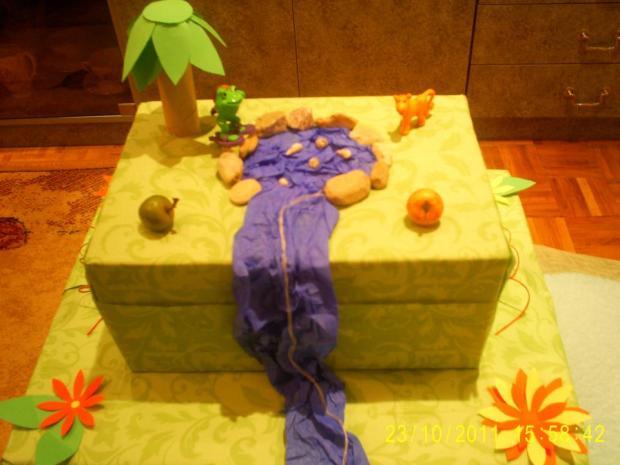 Papierová torta, Tvoríme s deťmi a pre deti
