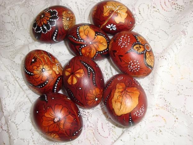 cibulkove, Veľkonočné dekorácie