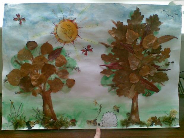 Stromy z lístia