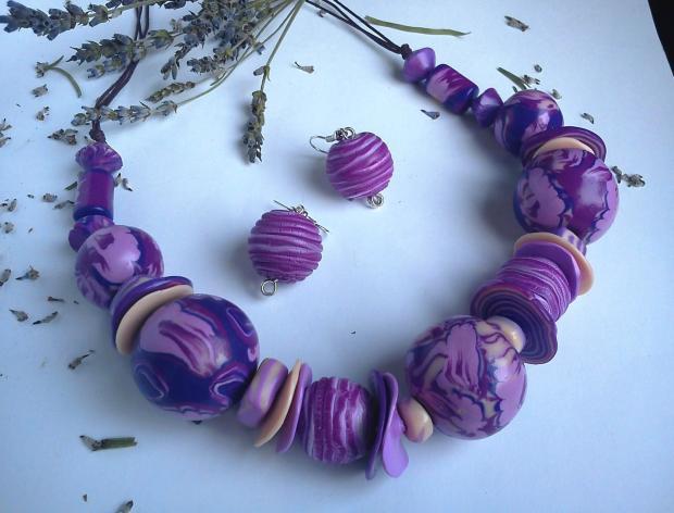 fialové korále..., Modelovanie