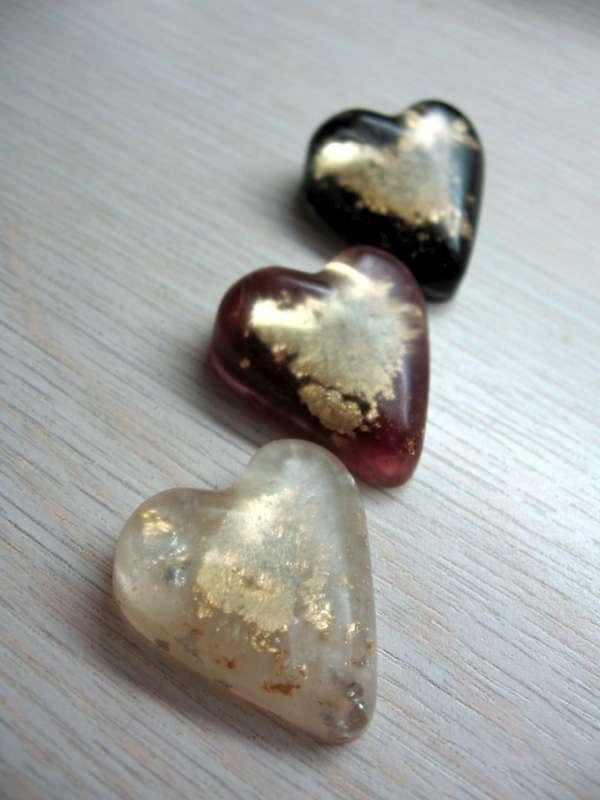 srdcia zo živice, Korálky od Natálky