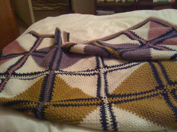 Háčkovaná deka, Háčkovanie