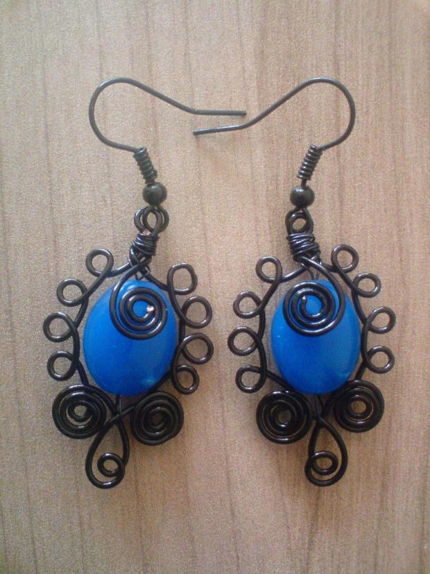 modrá je dobrá :) , Drôtovanie