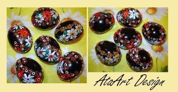 Maľované vajíčka, Veľkonočné dekorácie