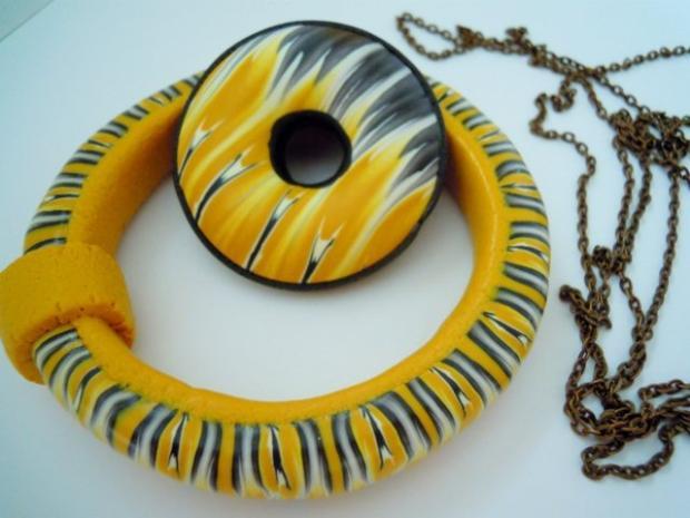 Slnko v duši- donut a náramok, Modelovanie
