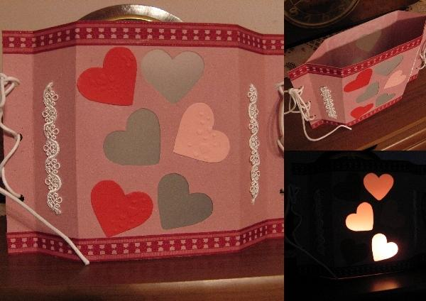 valentínska romantika alebo valentínske intimčo, Valentínske dekorácie