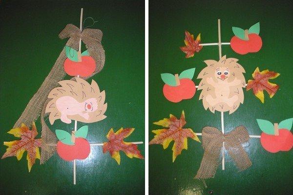 Jesenná výzdoba do okien, Tvoríme s deťmi a pre deti
