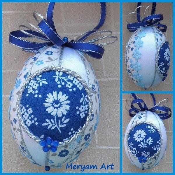 modré vajko, Falošný patchwork