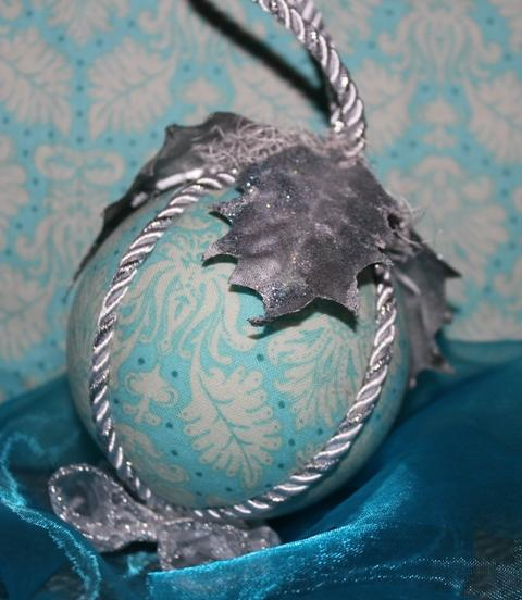 Vianočná modrá, Falošný patchwork