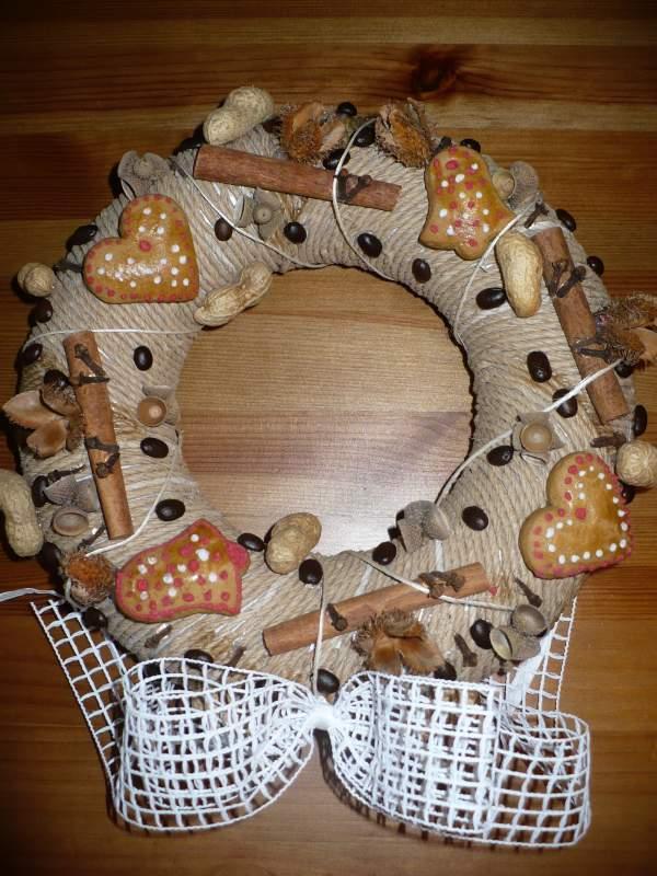 Voňavý venček, Vianočné dekorácie
