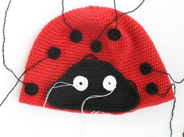 602e988ac16c Postupy na pletené a háčkované detské čiapky - návody