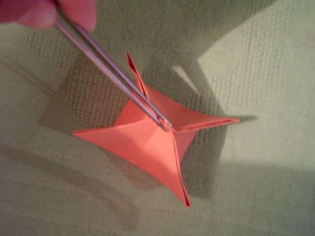 Tulipány z papiera - fotopostup 11