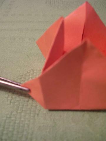 Tulipány z papiera - fotopostup 13