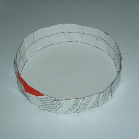 Bocian z plienok - návod na plienkovú tortu 1