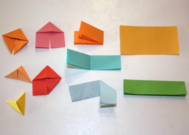 Fotopostup na 3D origami vajíčko 1