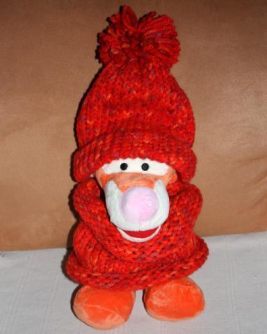 Postup na pletenú čiapku inak 1