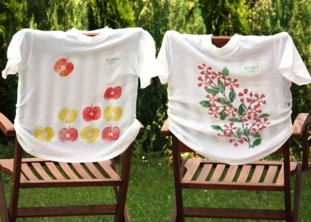 Maľujeme na textil s deťmi II. - foto postup
